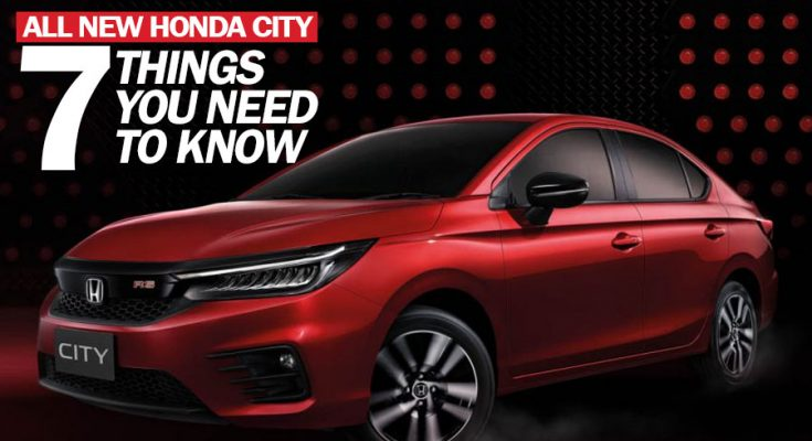 7 Things You Need to Know About All New 2020 Honda City 2