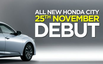 7th Generation Honda City to Debut on 25th November 25
