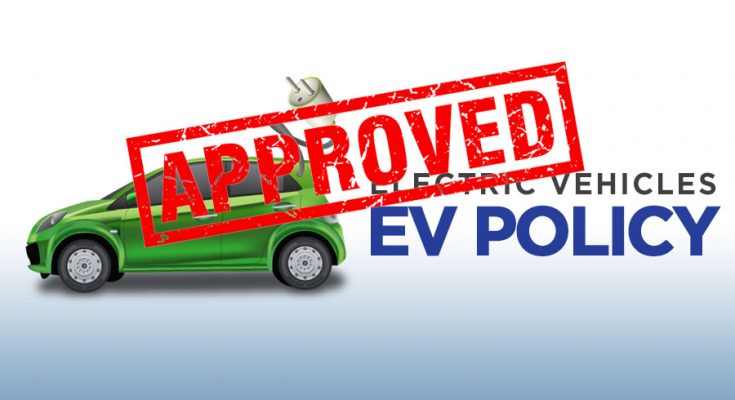 Federal Cabinet Approves Pakistan's First EV Policy 2