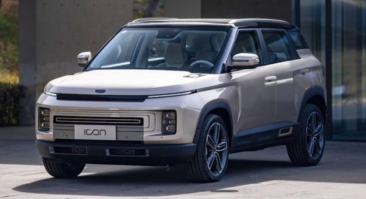 Geely Unveils the Production Version of Icon SUV 1