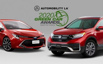 Toyota and Honda Win 'Green Car of the Year' Awards 16
