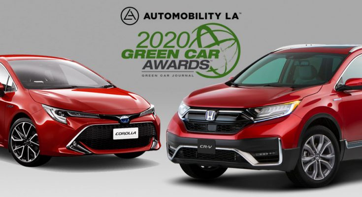 Toyota and Honda Win 'Green Car of the Year' Awards 1