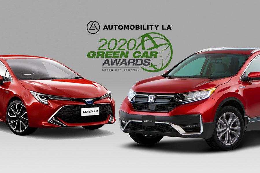 Toyota and Honda Win 'Green Car of the Year' Awards 9