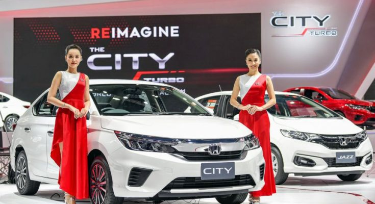 All New Honda City Displayed at 2019 Thai Motor Expo 2