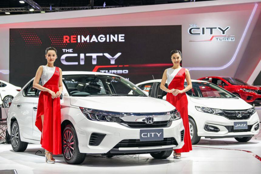 All New Honda City Displayed at 2019 Thai Motor Expo 3
