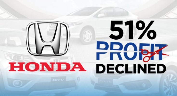 Honda Atlas Suffers from 51% Decline in Profits 1