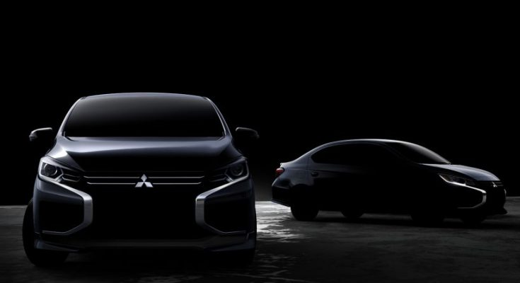 Mitsubishi Teases New Mirage & Attrage Ahead of Debut 2