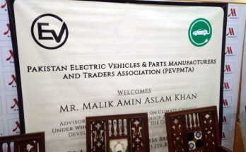Press Briefing on Electric Vehicles in Pakistan by PEVMA 2