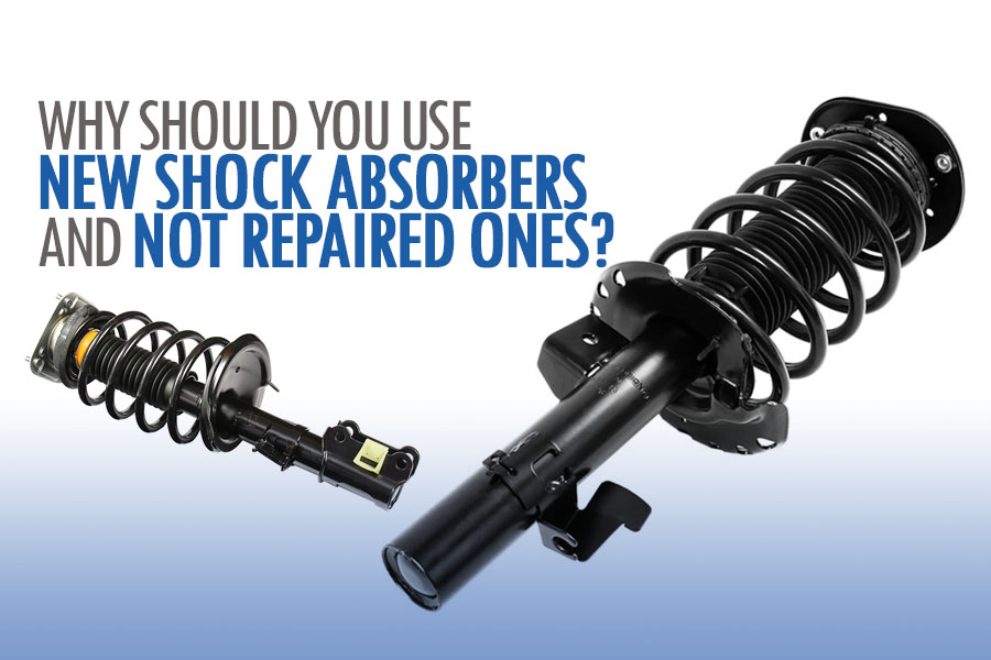 Why Should You Use a New Shock Absorber and NOT a Repaired One? 3