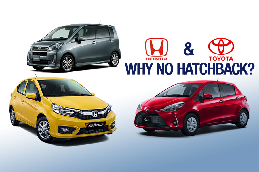 Toyota Honda Suffering Due To Absence Of Small Hatchbacks Carspiritpk