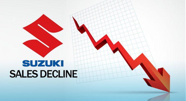 Pak Suzuki Suffering from a Massive Decline in Sales 1
