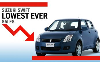 Pak Suzuki Swifts Hits Rock Bottom with Just 151 Units Sold in October 15