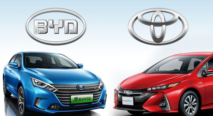 Toyota and BYD to Establish JV for Electric Vehicle Research and Development 1