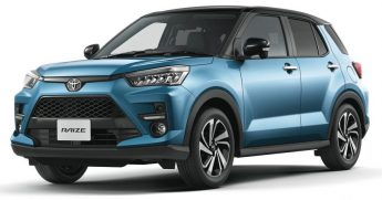 2020Toyota Raize Compact SUV Launched 2