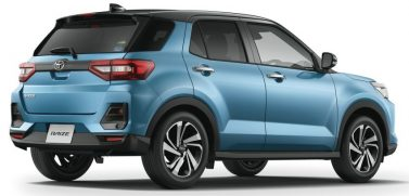 2020Toyota Raize Compact SUV Launched 5