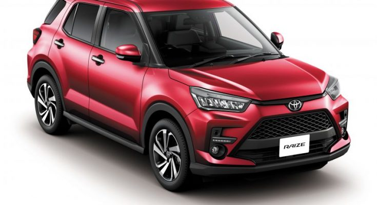 2020Toyota Raize Compact SUV Launched 4