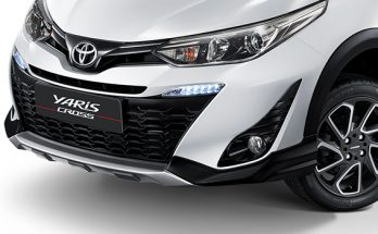 Toyota Yaris Updated in Thailand 1