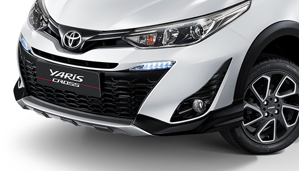 Toyota Yaris Updated in Thailand 1