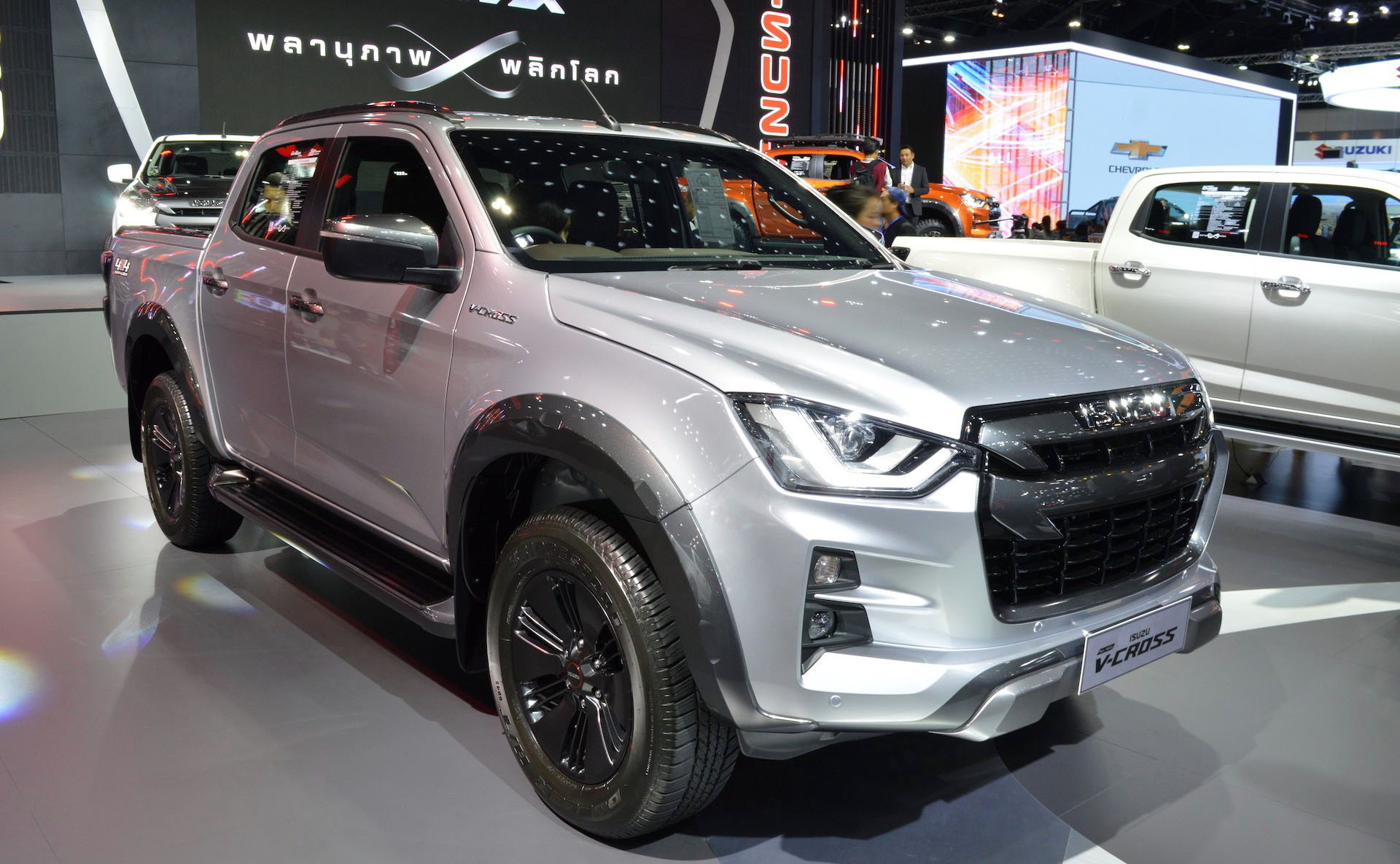 2020 Isuzu D-Max Displayed at Thai Motor Expo 1
