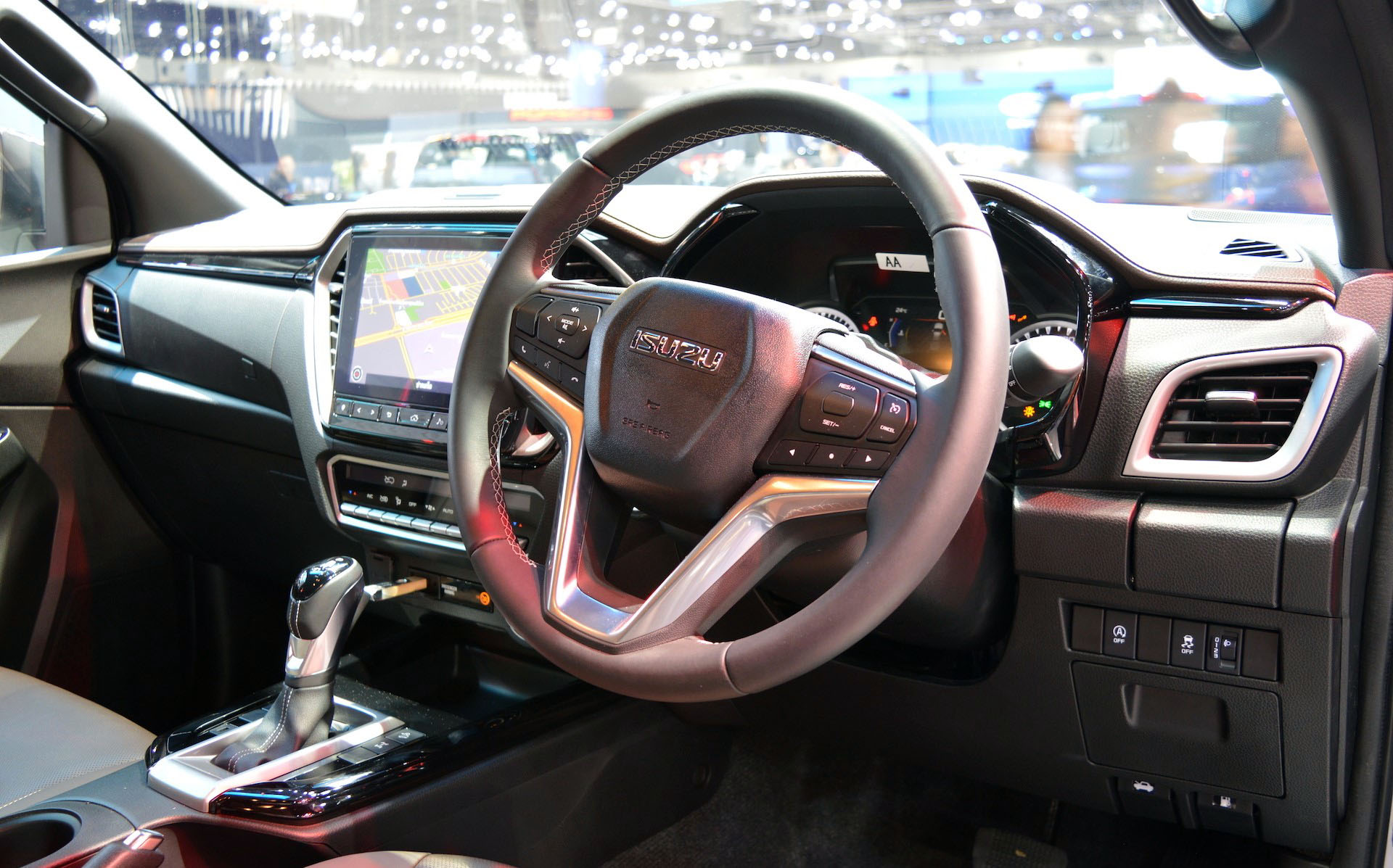 2020 Isuzu D-Max Displayed at Thai Motor Expo 8
