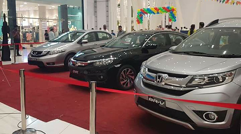 Honda Offers 'Month Full of Surprises' to Lure Customers 3