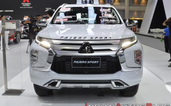 All New Mitsubishi Pajero Sport Displayed at 2019 Thai Motor Expo 11