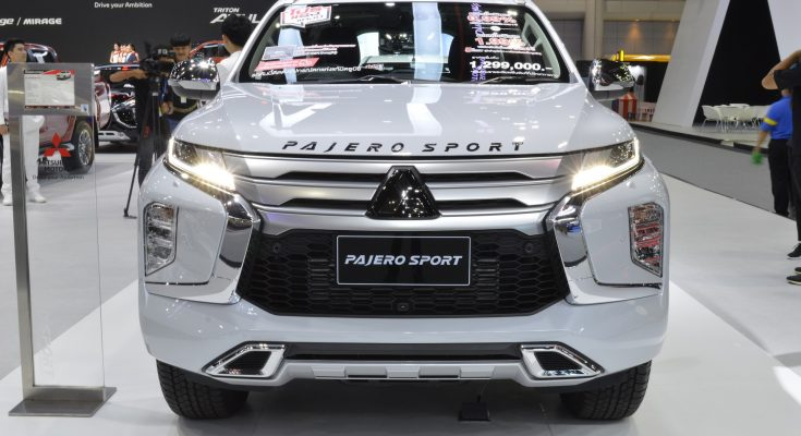 All New Mitsubishi Pajero Sport Displayed at 2019 Thai Motor Expo 2