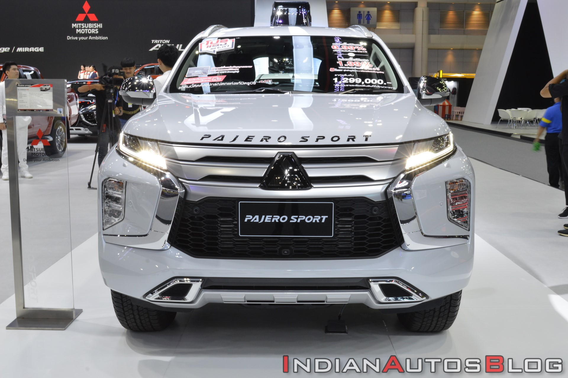 All New Mitsubishi Pajero Sport Displayed at 2019 Thai Motor Expo 4