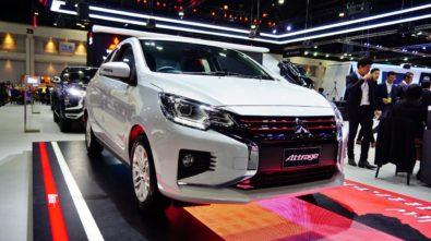 New Mitsubishi Mirage and Attrage Displayed at 2019 Thai Motor Expo 4
