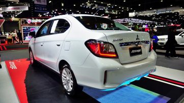 New Mitsubishi Mirage and Attrage Displayed at 2019 Thai Motor Expo 7