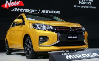 New Mitsubishi Mirage and Attrage Displayed at 2019 Thai Motor Expo 2