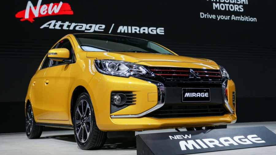 New Mitsubishi Mirage and Attrage Displayed at 2019 Thai Motor Expo 19