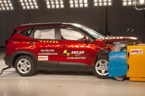 Kia Seltos Scores 5 Stars in ANCAP Crash Tests 3