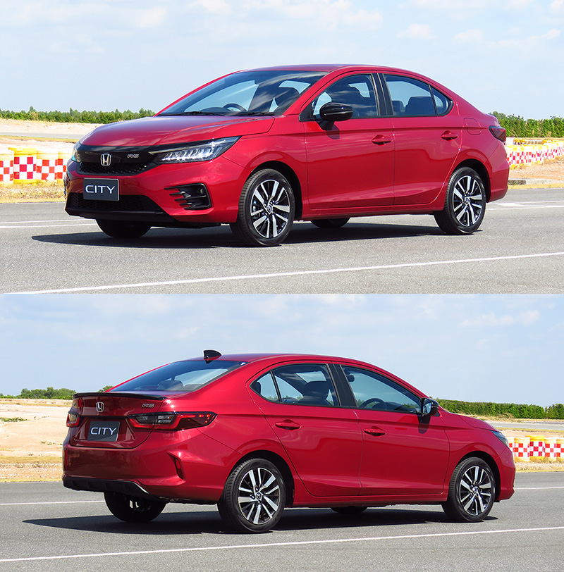 Up-Close with the All New 2020 Honda City 6