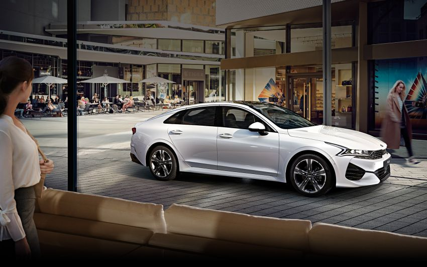 Kia Reveals Technical Details of the All New 2020 K5/ Optima 5