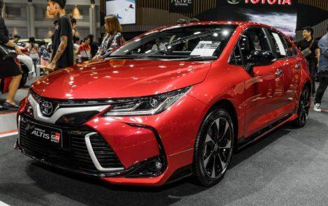 Toyota Corolla Altis GR Sport at 2019 Thai Motor Expo 4