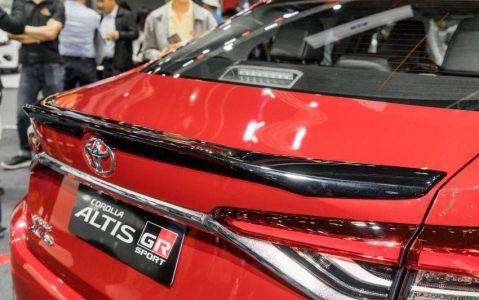 Toyota Corolla Altis GR Sport at 2019 Thai Motor Expo 9