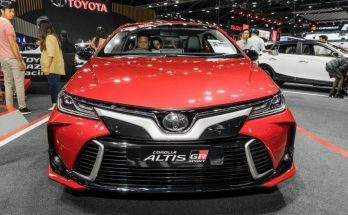 Toyota Corolla Altis GR Sport at 2019 Thai Motor Expo 25