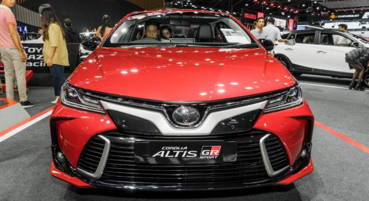 Toyota Corolla Altis GR Sport at 2019 Thai Motor Expo 1