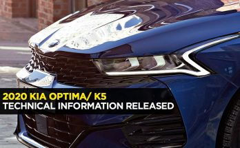 Kia Reveals Technical Details of the All New 2020 K5/ Optima 1