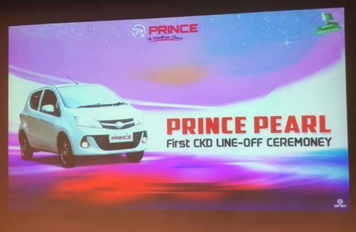 First CKD Prince Pearl Line Off Ceremony- 1st February Launch Announced 2