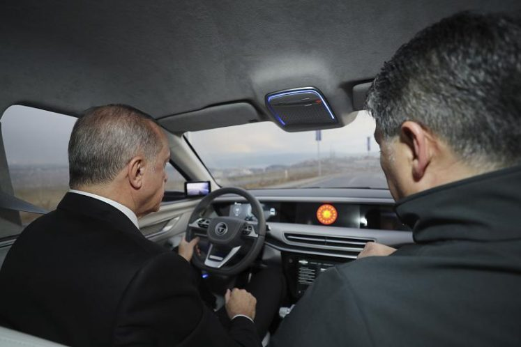 Turkey Unveils TOGG- Their First Domestic Automobile Prototypes 5