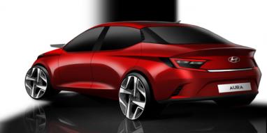 Hyundai Teases the Aura Design Sketches Ahead of Debut 3