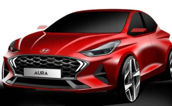 Hyundai Teases the Aura Design Sketches Ahead of Debut 12