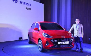 Hyundai's Newest Aura Subcompact Sedan Debuts in India 10
