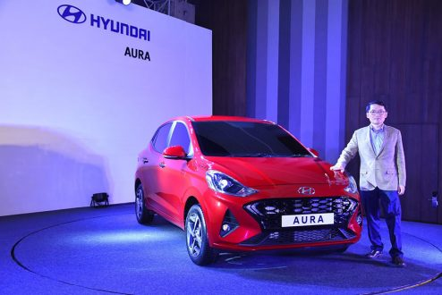 Hyundai Aura Launched in India Priced at INR 5.8 Lac 5