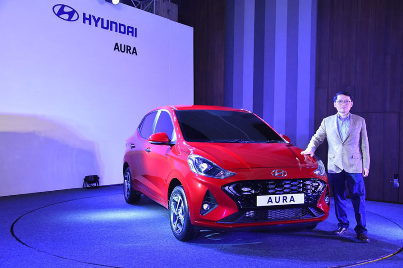 Hyundai Aura Launched in India Priced at INR 5.8 Lac 4