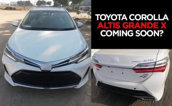 Toyota Corolla Altis Grande 1.8X Coming Soon? 8