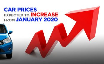 Car Prices to Increase from January 2020 2