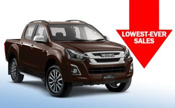 Isuzu D-MAX Recorded Lowest-Ever Sales in November 10